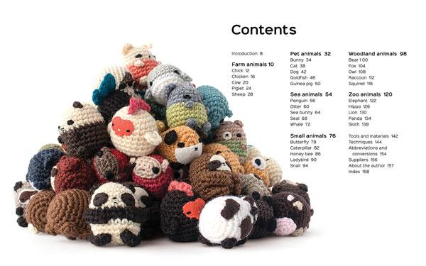 Crochet eBook: 100 Days of Mini Amigurumi VOL 1, PDF Amigurumi ... | 375x600